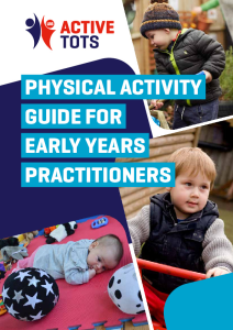 Healthy Tots Physical Activity Guide web