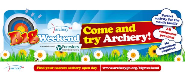 The Archery Big Weekend is here!