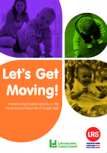 Let's Get Moving Parent Leaflet