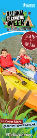 Bring On The Big Adventure During National Go Canoeing Week