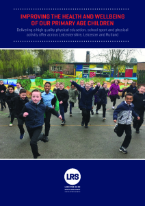 Improving the Health & Wellbeing of our Primary Age Children