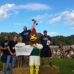 Strongmen triumph at first ever Peak District Highland Games