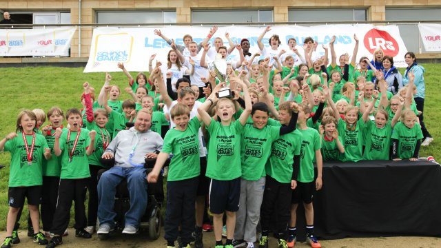 Fantastic finale to 2012/13 Leicester-Shire & Rutland School Games