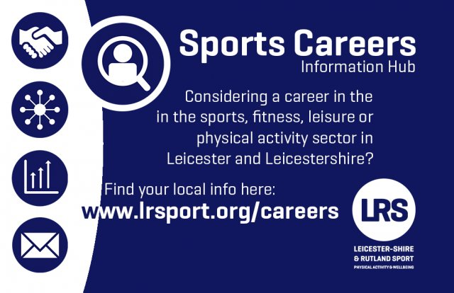 Information about Careers in the Sport Sector - including links to local jobs, volunteering and apprenticeship opportunities
