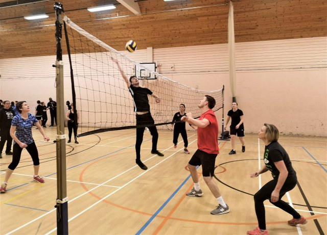 North West Leicestershire School Sports Partnership smash their way to victory at the Workplace Volleyball Competition!