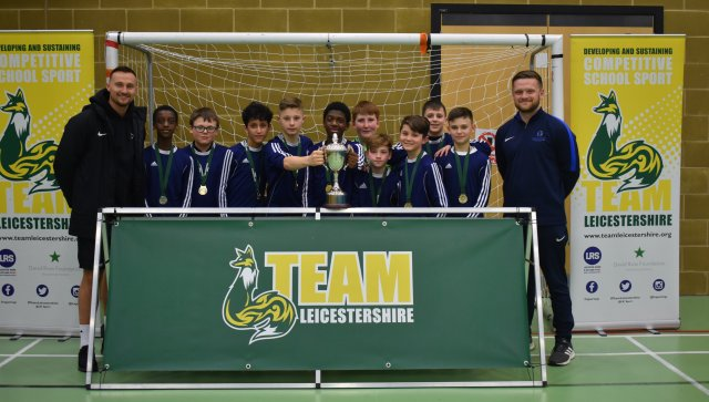 Thomas Estley Triumph in Double Victory at Team Leicestershire Futsal Finals!