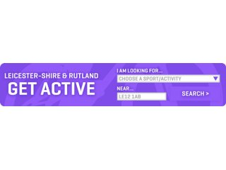'Get Active' Search Engine