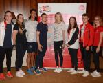 50 promising young athletes recognised and funded  by GO GOLD