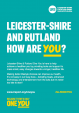 Leicester Shire & Rutland How Are You Brand Mark
