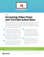 Checklist - increasing video views and subscribers
