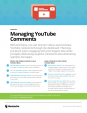 Checklist - managing YouTube comments