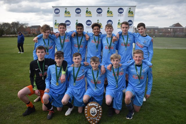 Brookvale Groby Learning Campus Celebrate a Double Victory in the Team Leicestershire Boys Football Finals!