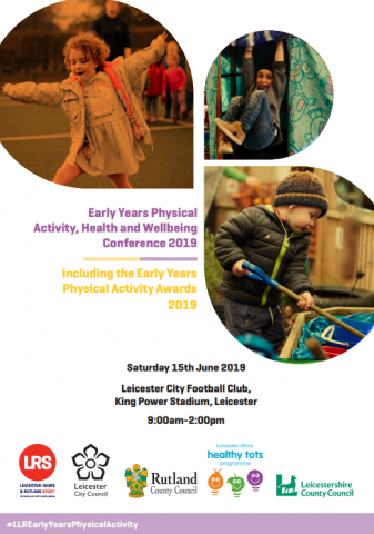 Bookings open for Early Years Physical Activity, Health & Wellbeing Conference