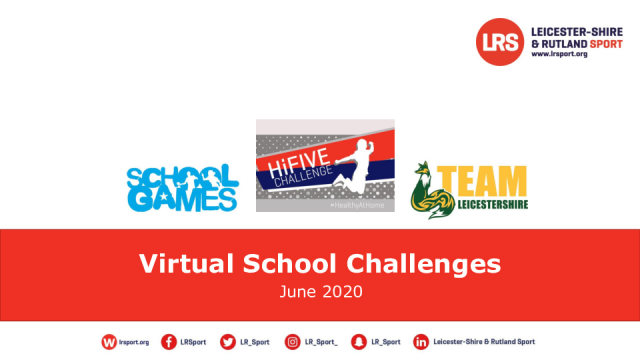 LRS Virtual sports challenges session plans
