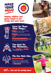 Make Your Move Activity Flyer Children & Young People