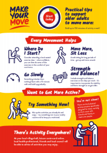 Make Your Move Activity Flyer Older Adults