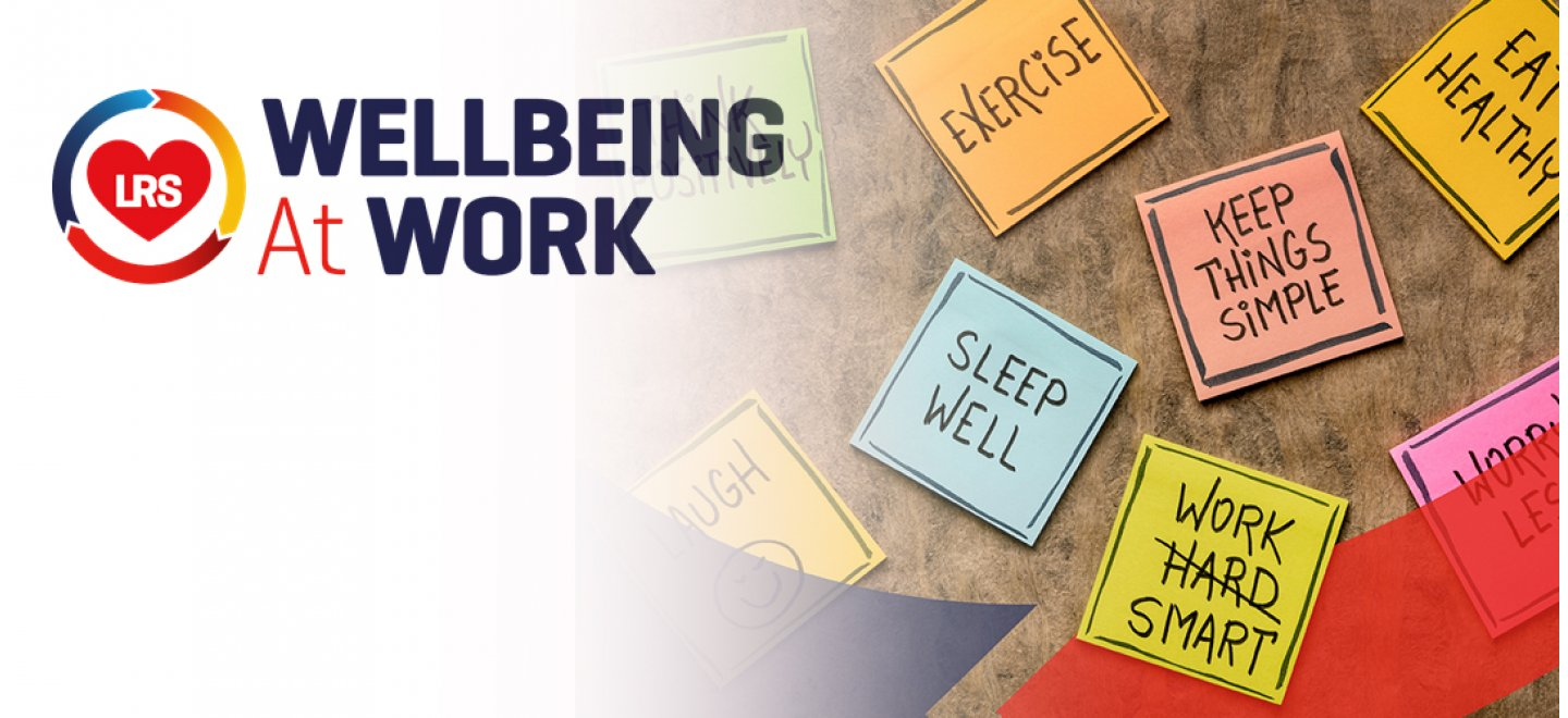 Sign up to our new Wellbeing at Work Charter
