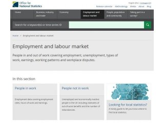 Employment and labour market