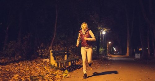 How to exercise safely in the dark