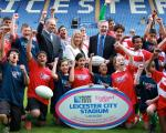 Judgemeadow Star in Leicester's RWC 2015 Launch