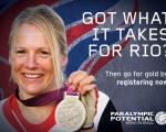Paralympic Potential Launched to Discover New Talent for Rio 2016