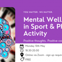 Mental Wellbeing in Sport & Physical Activity Webinar