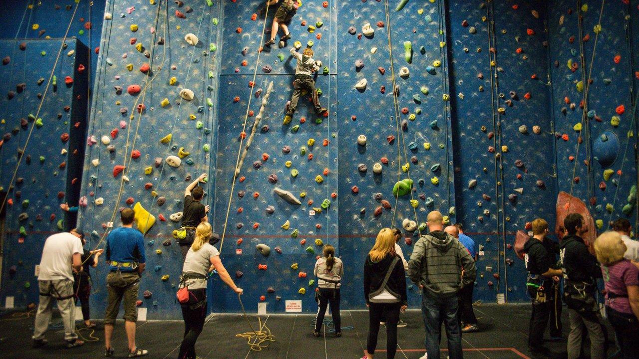 Climbing Banner