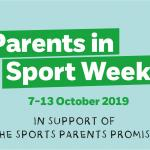 Parents in Sport Week: 7-13th Oct