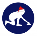 Christmas Workplace New Age Kurling Competition Icon