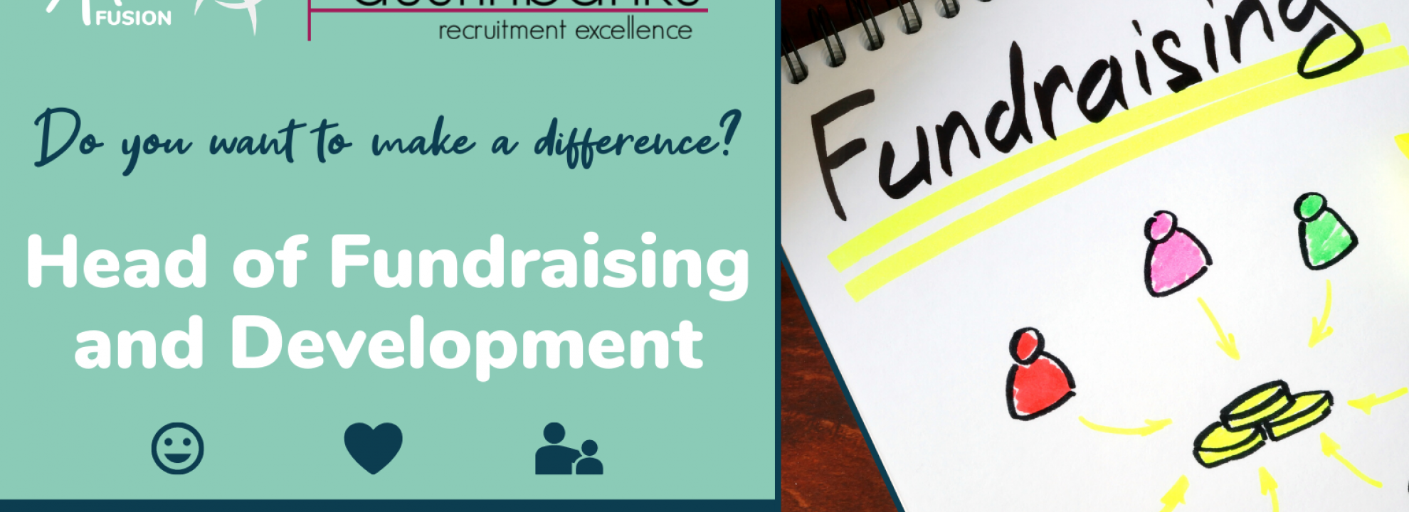 Head of Fundraising and Development Banner