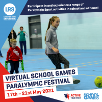 Virtual School Games Paralympic Festival
