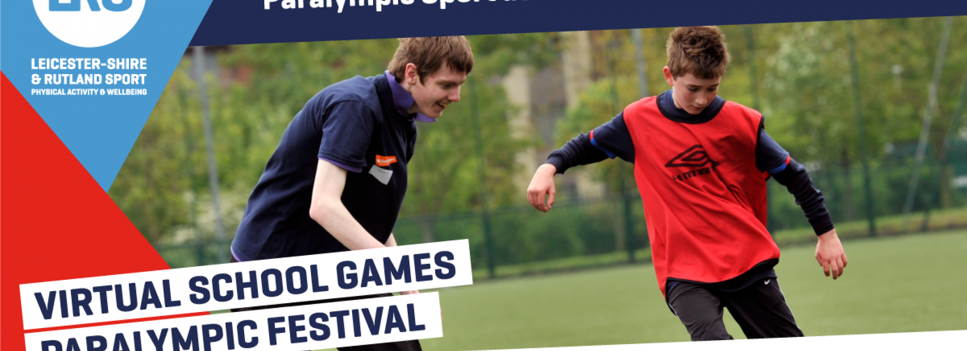Virtual School Games Paralympic Festival Banner